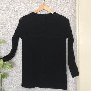 Tory Burch 100% cashmere black pullover sweater